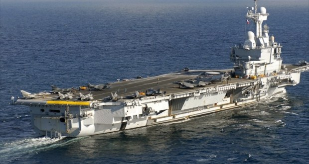France Deploys Charles De Gaulle (R 91) Aircraft Carrier to Anti-Islamic State Mission in Middle East