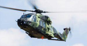 Dutch military NH90 helicopter crashes near Aruba, The Caribbean