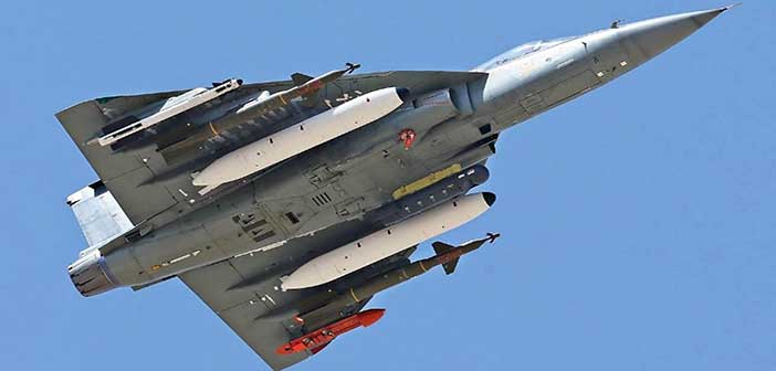 Light Combat Aircraft - Tejas.