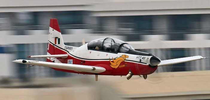 HAL HTT-40 basic trainer jet