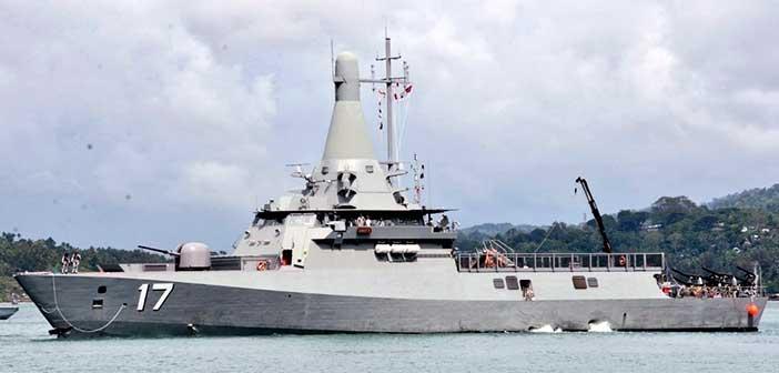 India-Singapore navies begin biggest weapon firing drill Simbex 3