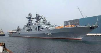 Russian warships arrive in India for naval exercise Indra Navy 2018 1
