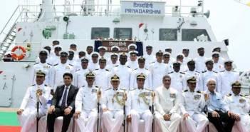 ICGS Priyadarshini, Indian Coast Guard, GRSE, Garden Reach Shipbuilders Kolkata, Indian Navy, Make In India