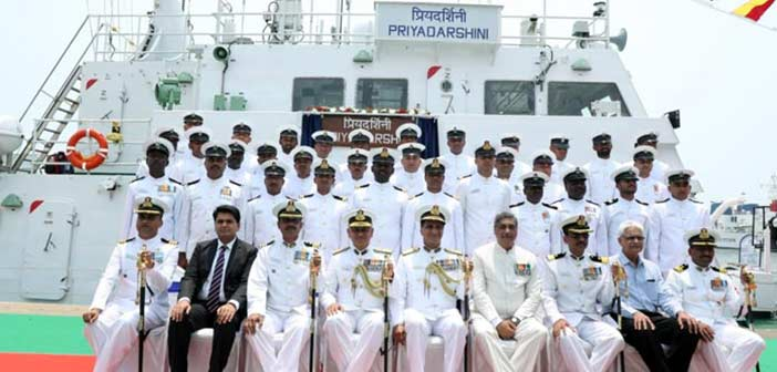 ICGS Priyadarshini, Indian Coast Guard, GRSE, Garden Reach Shipbuilders Kolkata, Indian Navy, Make In India