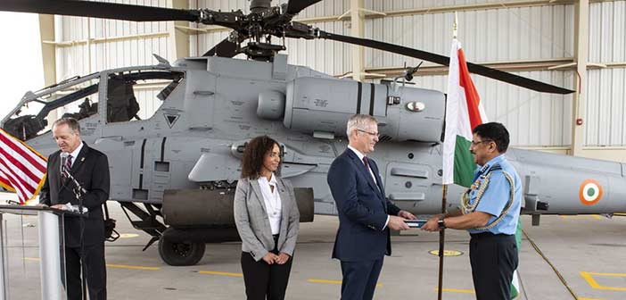 Boeing AH-64 E Apache Helicopter