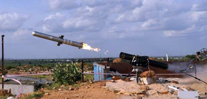 Indian Army DRDO Anti Tank Missile