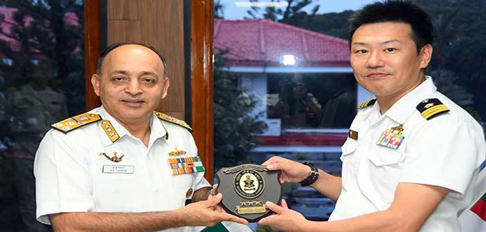 India Japan Navy, JS Sazanmi,