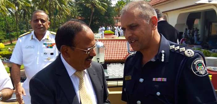 Ajit Doval at Goa Maritime Conclave 2019.