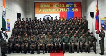 Indian Army Nomadic Elephant Exercise
