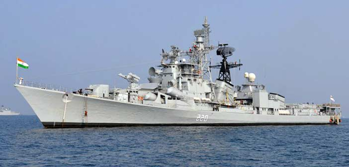 India Navy US Iran