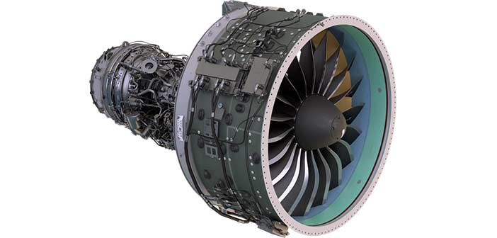 Pratt and Whitney AIESL GTF Engine