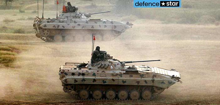 Indian Army Sarath BMP-2 Combat Vehicle