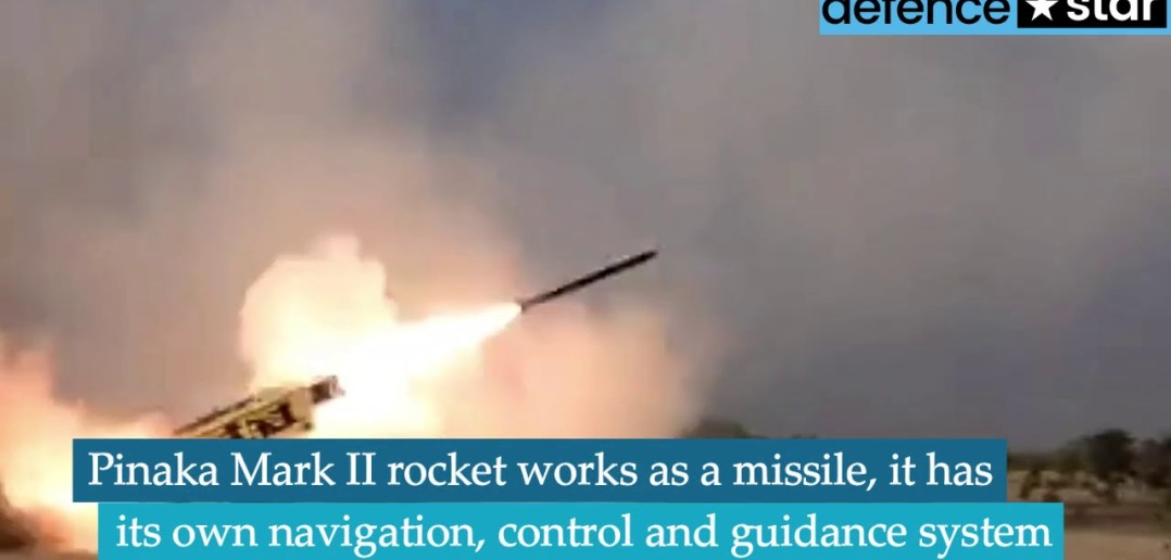 Watch: DRDO successfully tests upgraded version of Pinaka Missile System 2