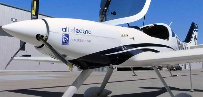 Rolls-Royce Aerospace eFlyer 2