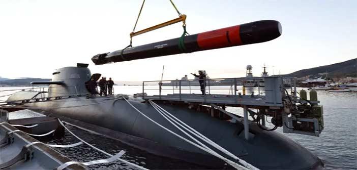 Italian Navy Submarine Fincantieri