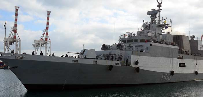 Indian Navy Ship.