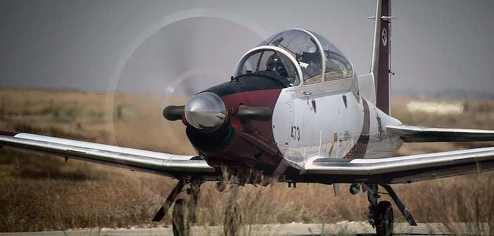 Israel T-6 aircraft