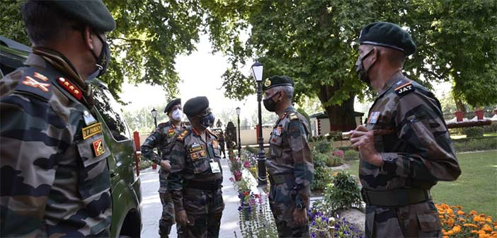 India Army Chief Gen MM Naravane Kashmir
