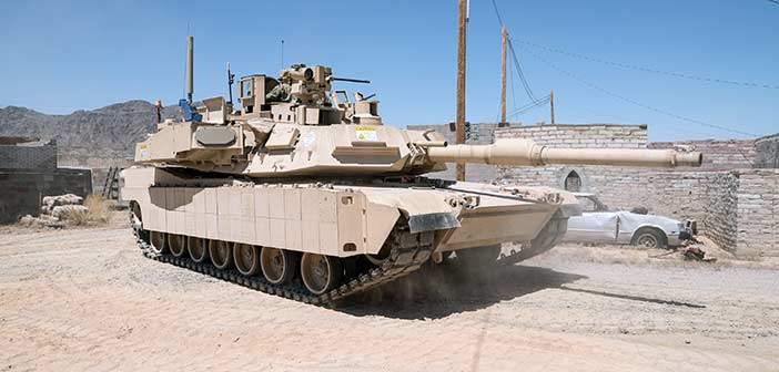 Rafael's Trophy APS on US Army's Abrams MBT.