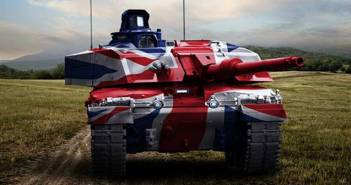 UK Challenger Main Battle Tank.