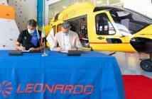 Leonardo-CNSAS Rescue Helicopters.