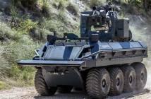 Rheinmetall Escribano Mission Master Vehicle.