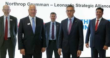 Leonardo, Northrop Grumman partnership.