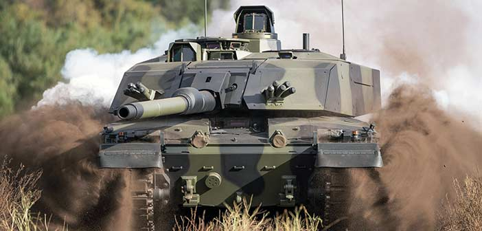 Challenger 3 MBT.