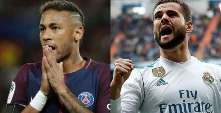 Image result for Neymar vs Nacho