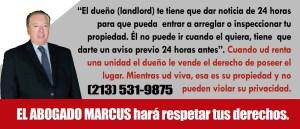 Abogados de Desalojo los Angeles CA Marcus Gomes