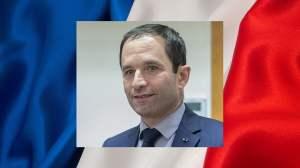 Benoît Hamon, candidat du Parti socialiste à l'élection présidentielle de 2017