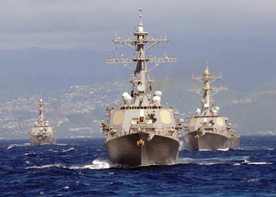 Guided Missile Destroyers