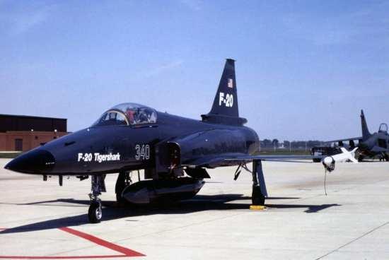 F-20 Tigershark Agressor