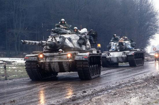 M60A3s in Germany 1985