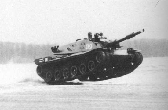 MBT-70 Aberdeen Speed Test