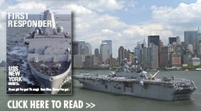 First Responder - USS New York Commissioning