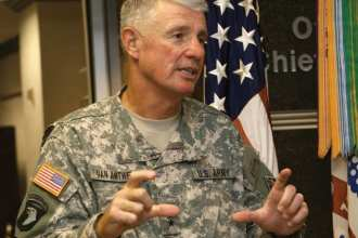 Lt. Gen. Robert L. Van Antwerp, Chief of Engineers and Commanding General of the U.S. Army Corps of Engineers. Photo courtesy of USACE.
