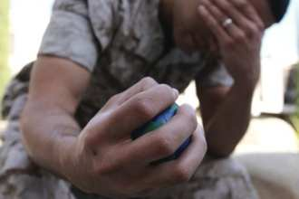 Major efforts by both the VA and DoD to identify, diagnose, and properly treat PTSD and other mental health issues have made what appears to be significant progress over the past decade of war in Southwest Asia. U.S. Marine Corps photo by Lance Cpl. Mike Atchue.