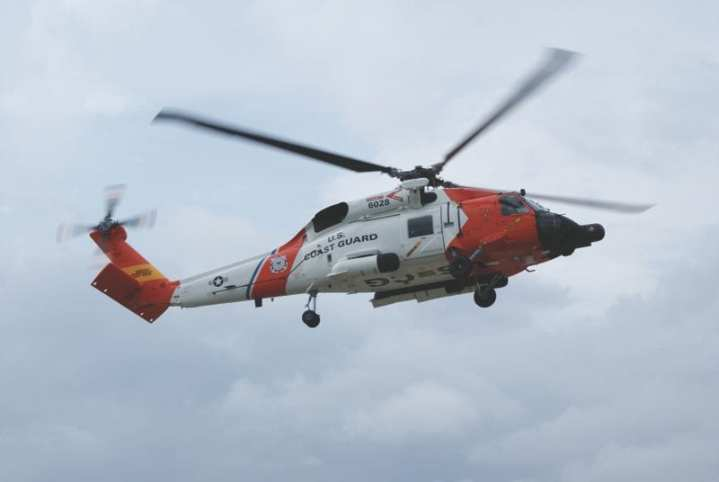 Jayhawks are undergoing a programmed depot maintenance cycle to modernize the medium-range recovery helicopters to MH-60T standard. They will be used as responders for offshore operations, and can provide shore-based aviation surveillance capability and transport. U.S. Coast Guard photo.