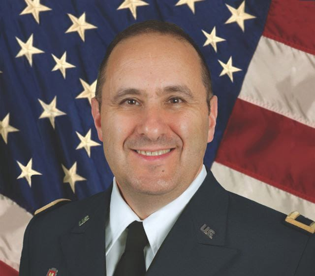 Brig. Gen. Harry Greene, deputy commander, RDECOM, senior commander Soldier Systems Center. U.S. Army photo.