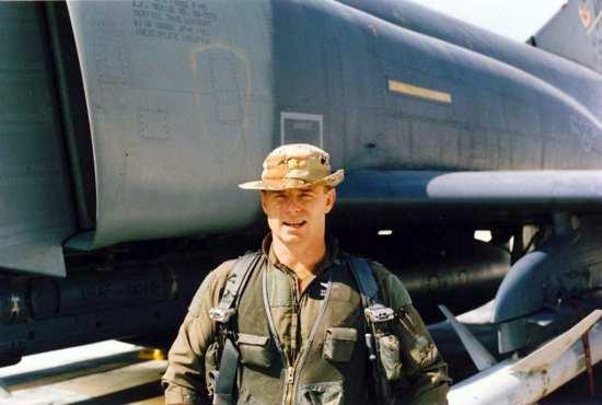 """Maj. Robert """"Muskrat"""" McNeese"""