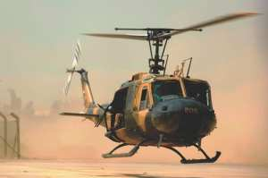 Iraqi air force UH-1H II Huey helicopter Foreign Military Sales