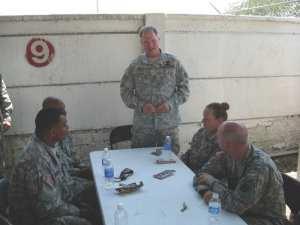 Maj Gen Hodge Haiti visit