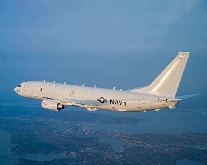 The P-8A Poseidon has entered low rate initial production and looks set for an on schedule entry into service. Photo courtesy of The Boeing Company.