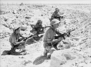 Australian patrol of 9_Div_Tobruk
