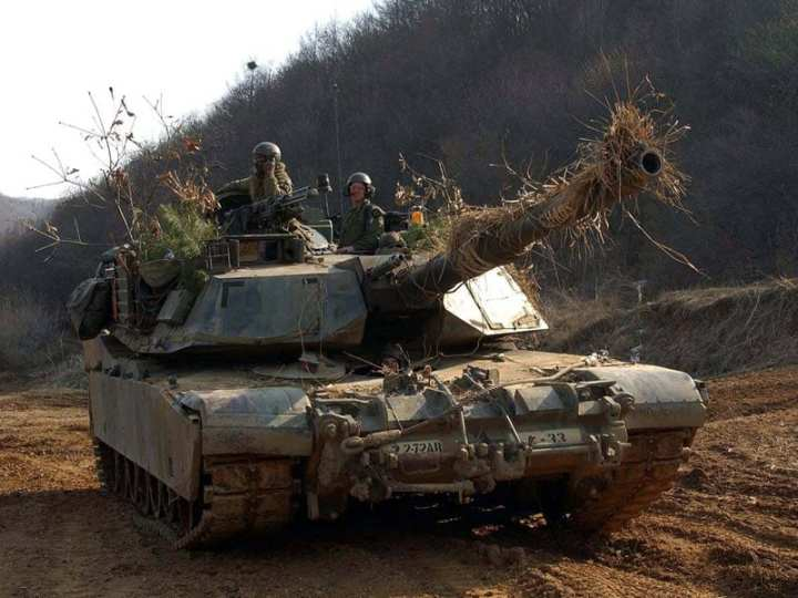 M1A2 Abrams Korea