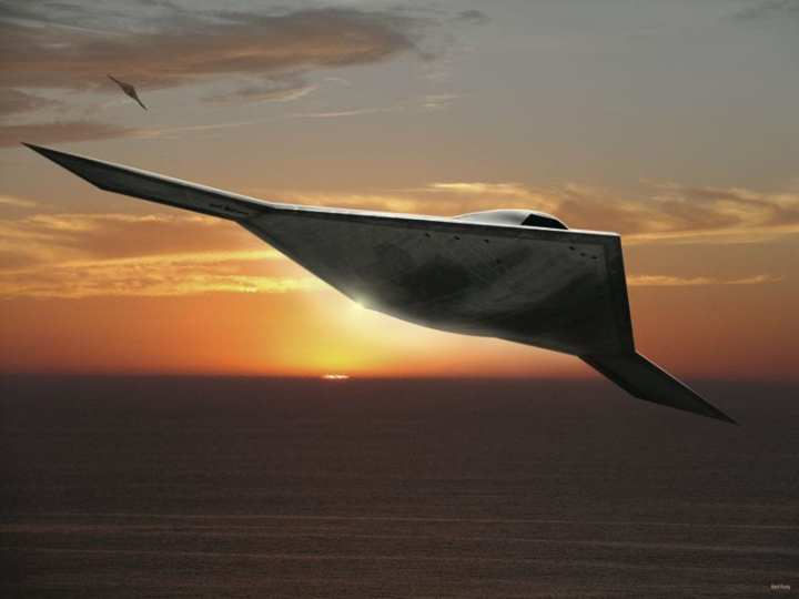 A new generation of stealthy UCAVs (unmanned combat aerial vehicles) could provide superior stealth and longer-range strike capabilities to the United States. Features like stealth add a considerable cost to new acquisitions and some question whether such technology is really necessary. Rendering courtesy of Northrop Grumman