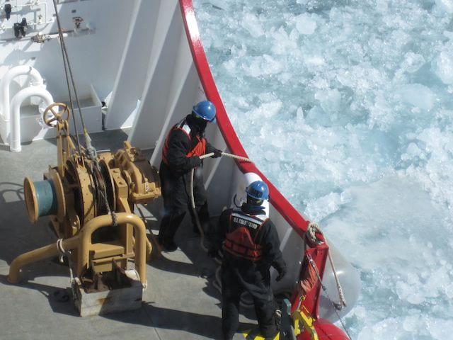 operation spring restore-USCGC Mackinaw