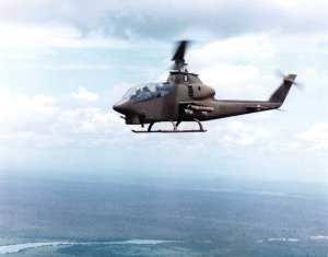 An AH-1G Cobra Vietnam, 1969.