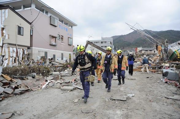 Virginia Task Force 1 in Japan